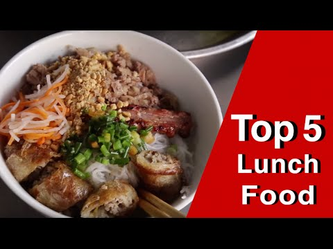 Top 5 lunch foods in Ho Chi Minh City!
