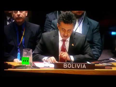 BOLIVIA EXPOSES CIA TORTURE TRAINING!!, (AP CUTS LIVE BROADCAST