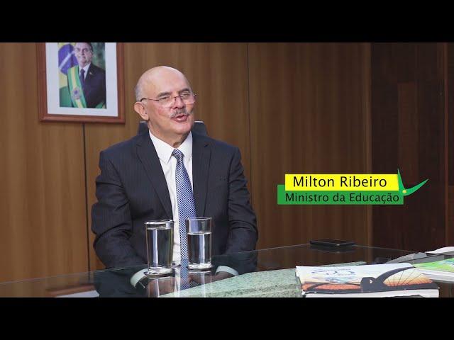 Entrevista com o Ministro da Educação, MILTON RIBEIRO