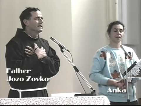 Our Lady's Message of Prayer PART 2 of 2 - Father Jozo Zovko Medugorje June 1990