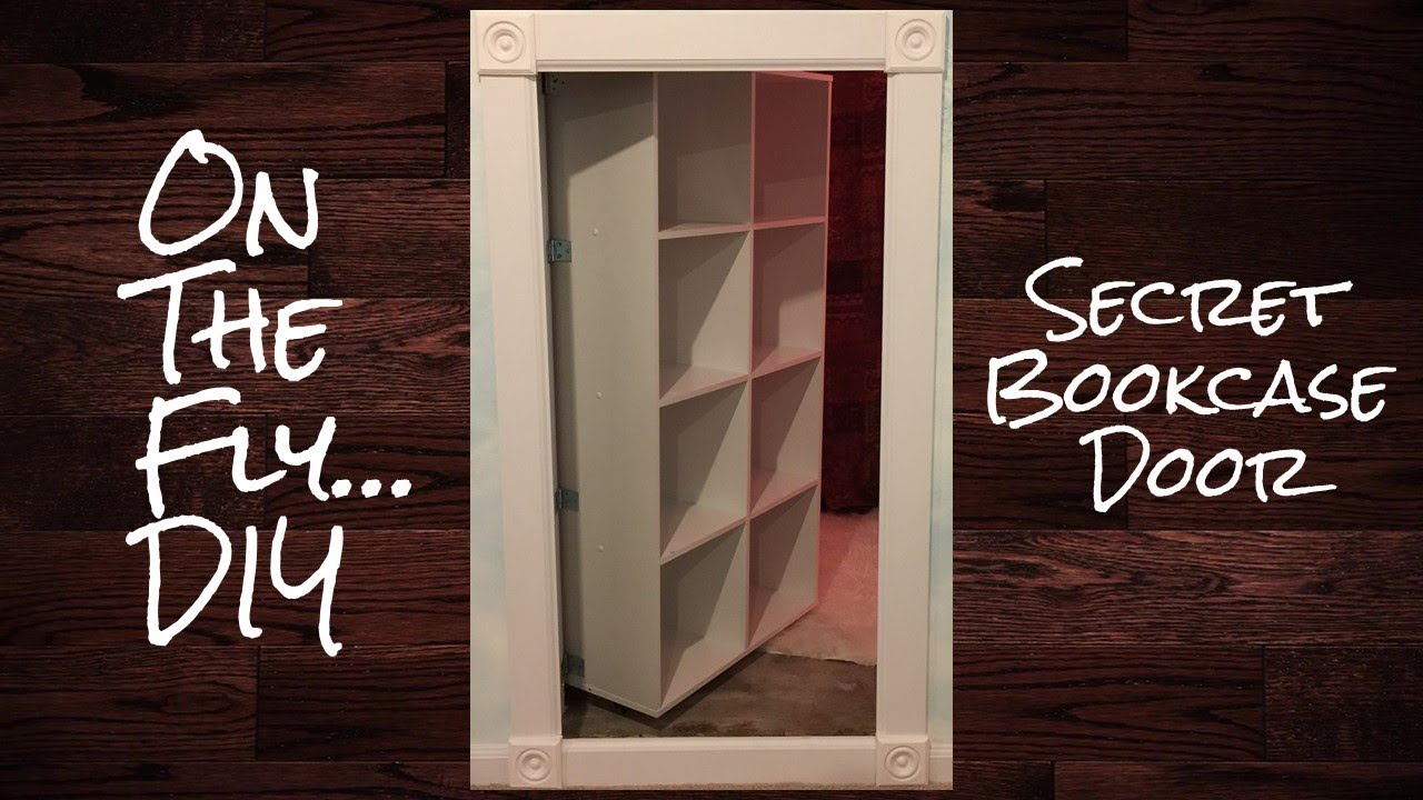 On The Fly Diy Secret Bookcase Door