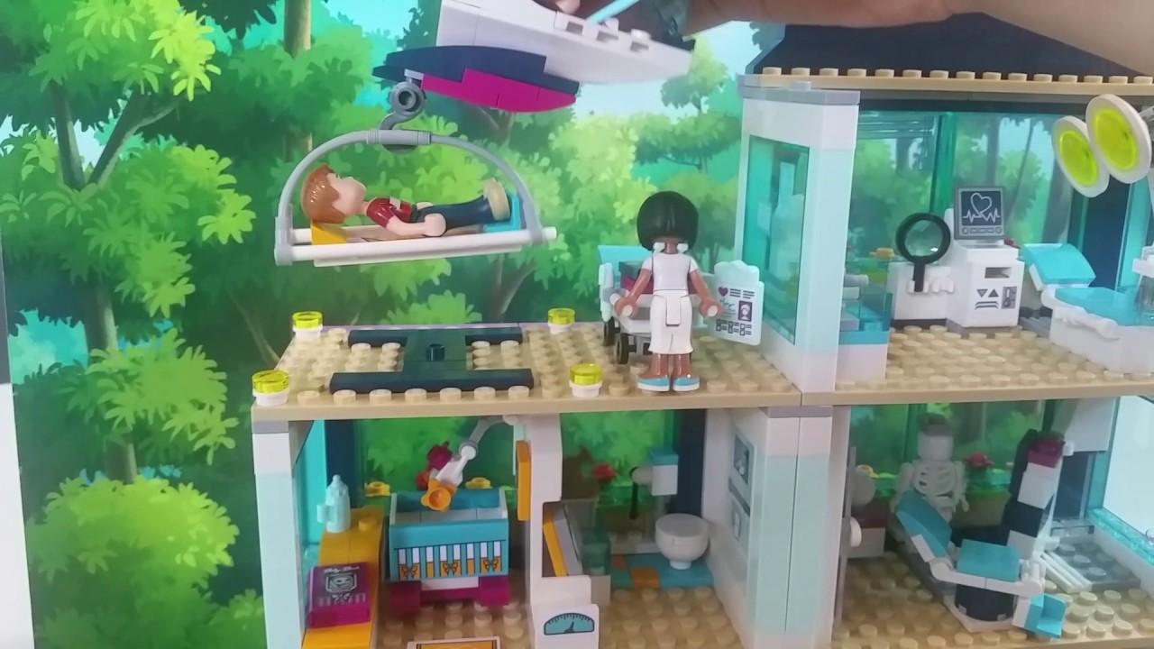 Lego Friends Ziekenhuis Youtube