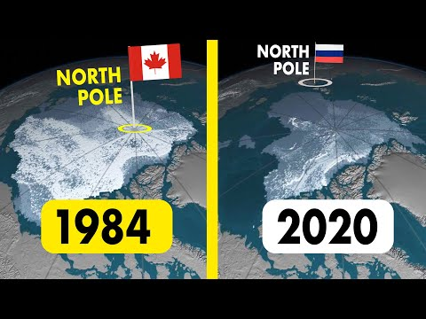 Why Did The North Pole Move Away From Canada?