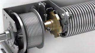 Обзор устройства безопасности защиты обрыва пружины гаражных ворот