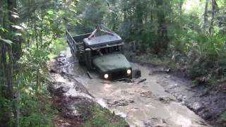 M35A2 Deuce and a Half in the Mud!