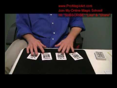 Free Magic Tricks: Marlo False Count Tutorial