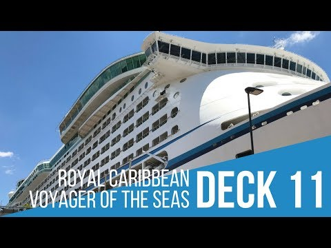 Royal Caribbean Voyager of the Seas Swimming Pool Area   Deck 11