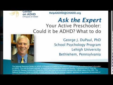 Your Active Preschooler: Could it be ADHD?