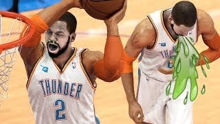 THE FLU GAME! Trying To NOT Throw Up On The Court! :/ ... NBA 2K14 Next Gen MyCareer #96