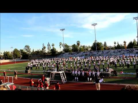 University of Massachusetts Minuteman Marching Band - 2018 Tournament of Roses Bandfest Performance