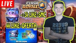 🔴[LIVE] AM CUMPARAT OFERTA SI MULTE LEGENDARE! Clash Royale Romania