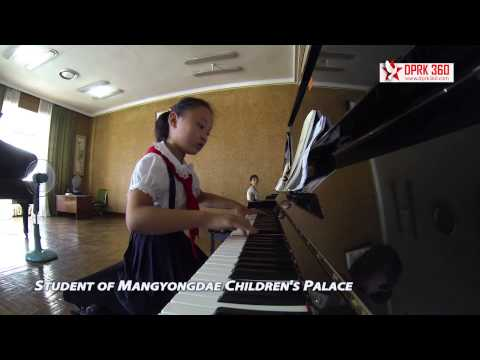 Student of Mangyongdae Children's Palace
