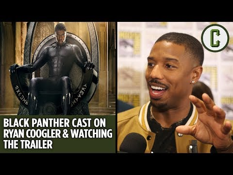 Black Panther Cast on Working with Ryan Coogler and Watching the