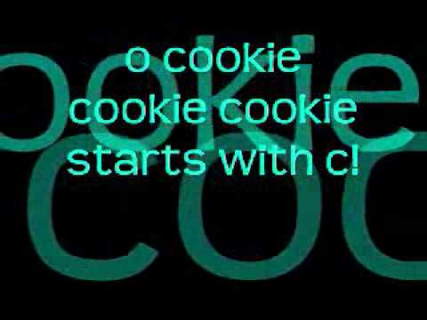 Cookie Monster- C is for Cookie w/ lyrics