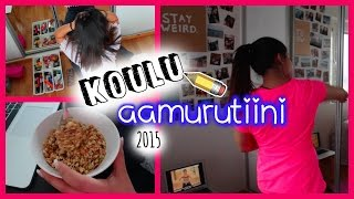 KOULU AAMURUTIINI (talvi 2015)  | Sleeping Beauty 2015