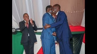 Ruto Hugs Raila And Repents: What Does It Mean Politically?