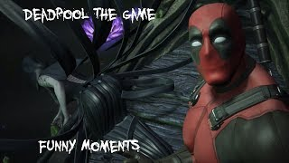 Deadpool game - Funny Moments - SPOILERS
