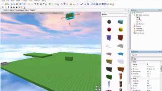 How to make moving platforms in ROBLOX!