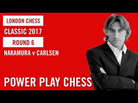 London Chess Classic 2017 Round 6 Hikaru Nakamura v Magnus Carlsen