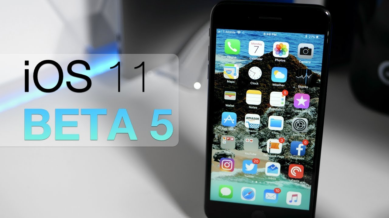 iOS 11 Beta 5 - What's New?
