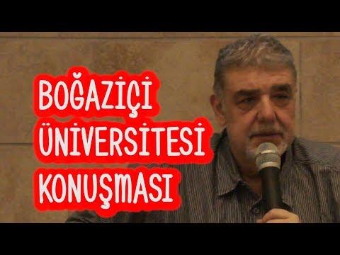Boğaziçi Üniversitesi'ndeki Oturum: SONUNA GELDİĞİMİZ YOLLAR