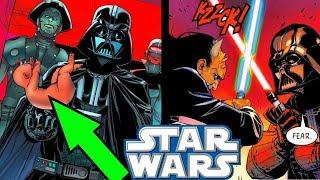 DARTH VADER HITS NEW LOW!! (Kidnapping Babies) - Star Wars Comics Explained