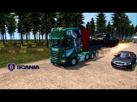 ETS2 - Russian Open Spaces V4 - Scania R