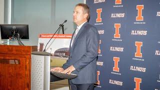 Illini Baseball | Atkins Baseball Training Center Press Conference