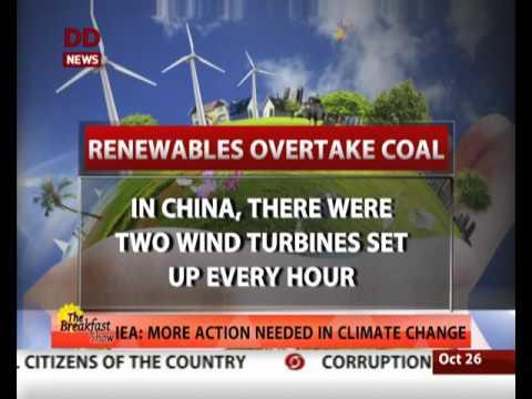 International Energy Agency releases report on renewables