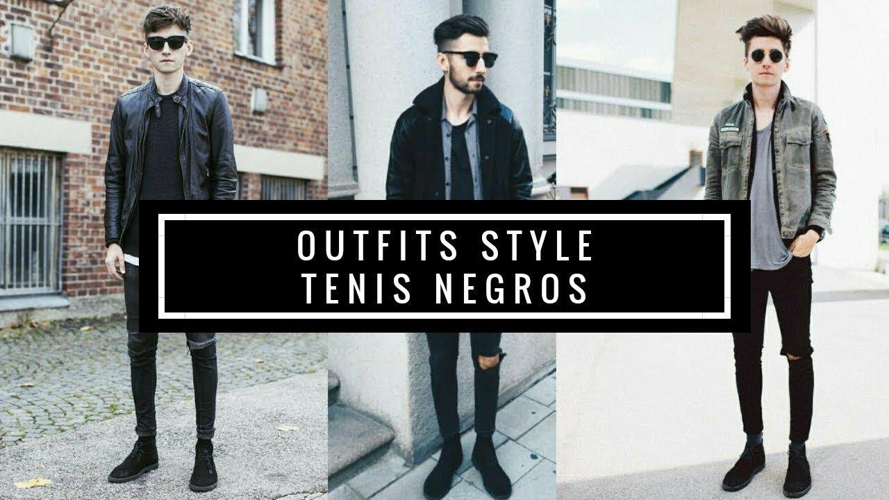 Negrasblack Juvenilstyle Zapatillas Outfits Sneakersmoda New USzMVqp