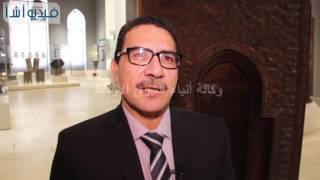 بالفيديو: مسئول متحف الفن الإسلامي كيف تم تجميع محراب المتحف بعد الدمار الذى لحق به