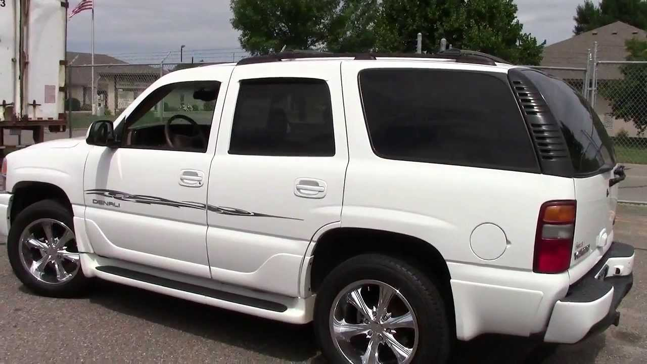 2002 gmc yukon denali awd youtube. Black Bedroom Furniture Sets. Home Design Ideas