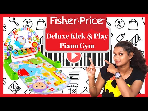Fisher Price Deluxe Kick & Play Piano Gym| Review| Baby Must-Have 2019 | Abitha