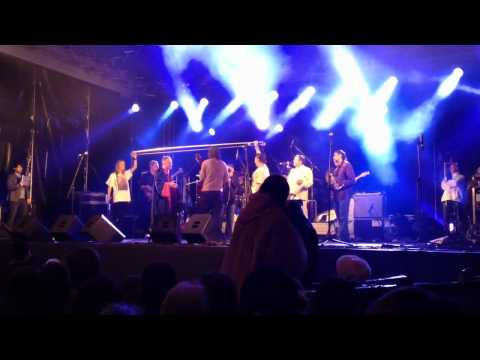 Emir Kusturica and The No Smoking Orchestra in St.Petersburg