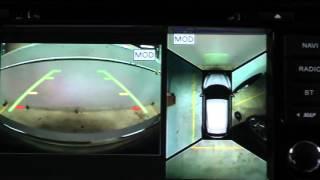 naviPilot DROID2 в Nissan Qashqai 2014 (J11) LE со штатной системой кругового обзора 360 (AVM)