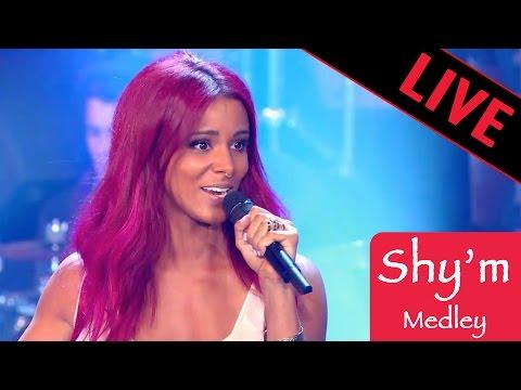 Shy'm - Medley - Et Alors - On se fout de nous - La Malice / Live dans les années bonheur