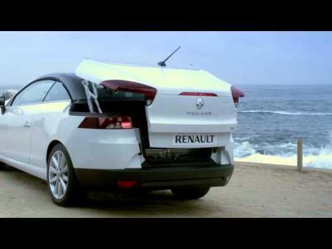 megane coupe cabriolet rangement dans le coffre