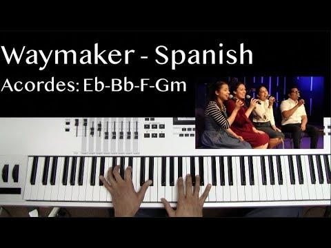 Way Maker - Spanish | Tutorial de Piano