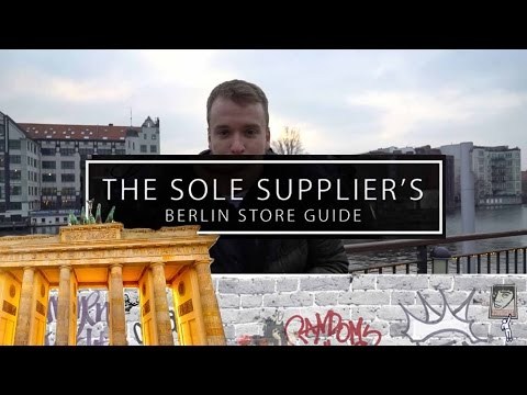 The 12 Best Berlin Sneaker & Streetwear Shops - Sole Store Guide