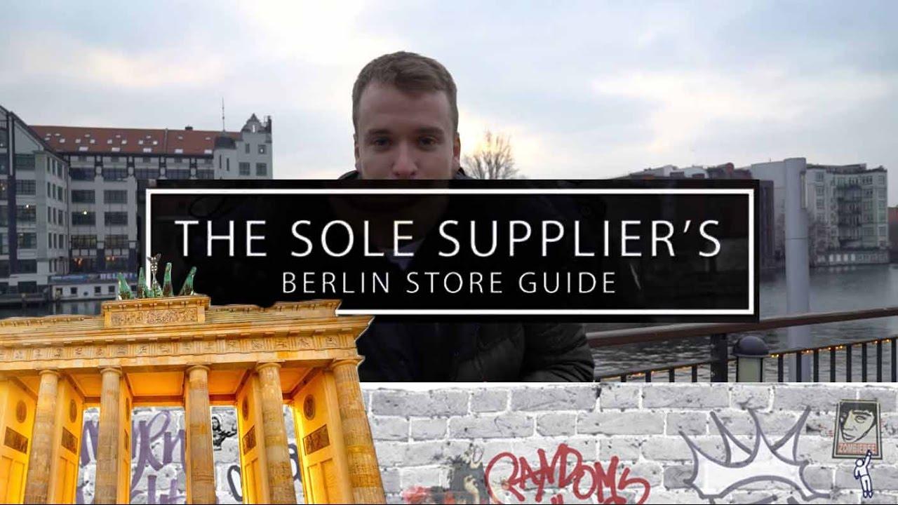 on sale 32e1e c675b The 12 Best Berlin Sneaker & Streetwear Shops - Sole Store Guide