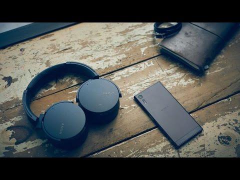 Khui hộp Tai nghe Sony MDR XB950N1: Chống ồn tốt, ExtraBass, Pin 22h, NFC , Bluetooth 4.1, aptX
