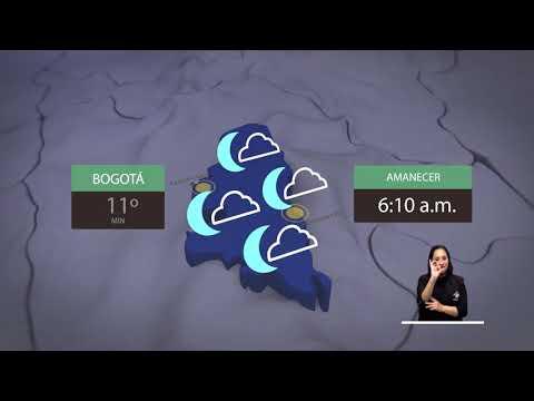 Pronóstico del tiempo - Noche viernes 25 Madrugada sábado 26 enero de 2019