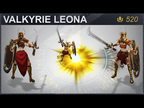 Valkyrie Leona Skin Spotlight 2020 | SKingdom - League of Legends