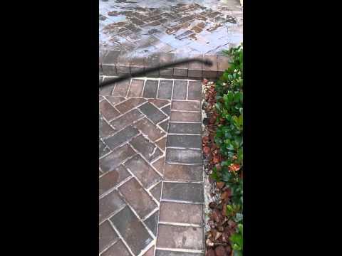 Stripping Off Bad Paver Sealer In Pasco County Fl Doovi