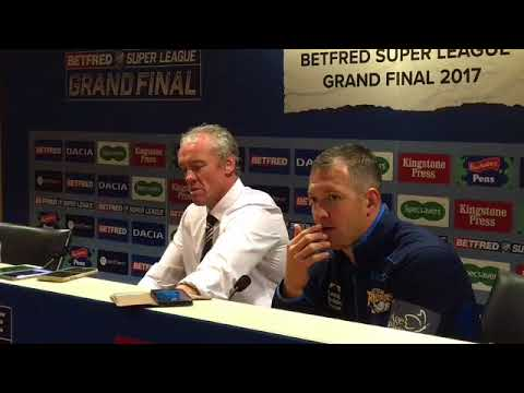 Brian McDermott and Danny McGuire post match press conference