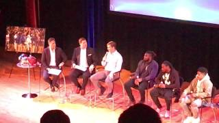 New York Giants Town Hall Interviews of Eli Manning, Landon Collins, Jackrabbit Jenkins and Shepard