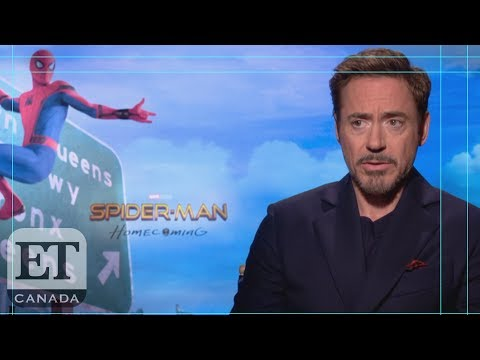 Robert Downey Jr  On Tony Stark's Relationship With Peter Parker