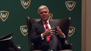 A Conversation with President M. Roy Wilson - Wayne State University
