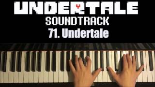 Undertale OST - 71. Undertale (FULL) (Piano Cover by Amosdoll)