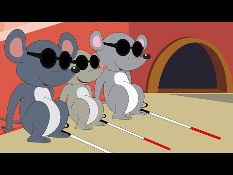 Three Blind Mice - Nursery Rhymes for Children - Ep 33